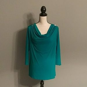 **3/$10** Jaclyn Smith Top Size XL